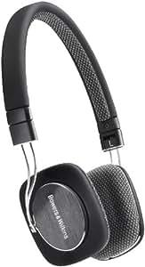 B&W P3 Ultraleicht HiFi-Kopfhörer inkl. MFi-Anschlusskabel für Apple iPod/iPhone  schwarz