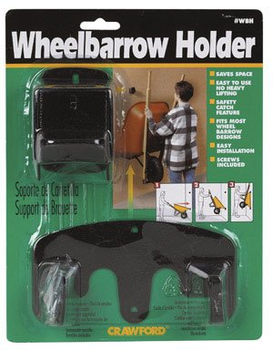 Cheap Wall Bike Rack: LeHigh Crawford Wheelbarrow Holder #WBH-6