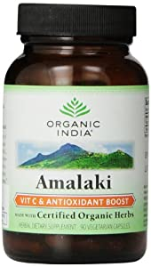 Organic India Amalaki, 90-Count