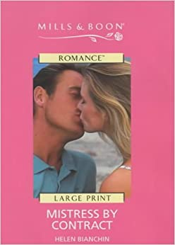 Mistress By Contract Mills Amp Boon Romance Helen border=