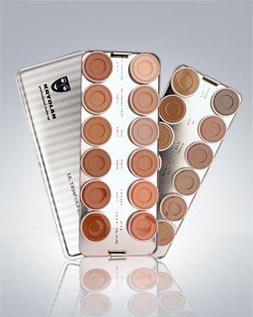 Ultra Makeup on Ultra Foundation 24 Color Palette Kryolan Makeup