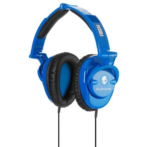 SKULLCANDY SKULLCRUSHERS Blue Pinstripeの写真01。おしゃれなヘッドホンをおすすめ-HEADMAN(ヘッドマン)-