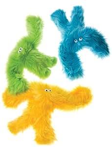 Furry Plush Dog Toys Salsa & Baby Salsa