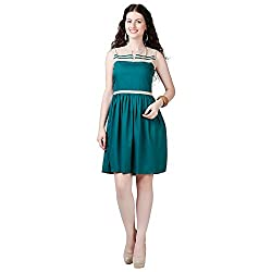 Eavan Women's Casual Wear Ascetic Polyester Dress