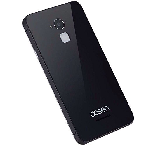 newest 811a2 1ccef BOUNCEBACK*GLASS +ALUMINIUM *Back Replacement Cover/Panel For*Coolpad Note  3/Note 3 Plus 5.5 inch-Black