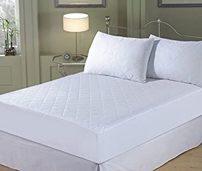 Double Bed Quilted Extra Deep Fitted Mattress Protector