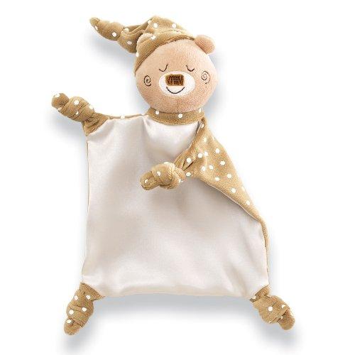 Gund Baby Forest Friends Satineesnug Blanket, Bear front-607323