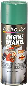 Dupli-Color DE1618 Ceramic Detroit Diesel Alpine Green Engine Paint - 12 oz.