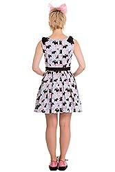 Hell Bunny Scottie Dog Check Mini Dress