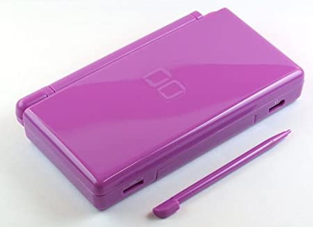 Lavender Purple - Nintendo DS Lite Complete Full Housing Shell Case Replacement Repair w/ Hinge Set