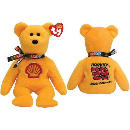 Ty NASCAR Beanie Baby Bear Kevin Harvick #29 - 1