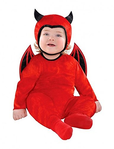 Cute As A Devil Costume 12-18 Months