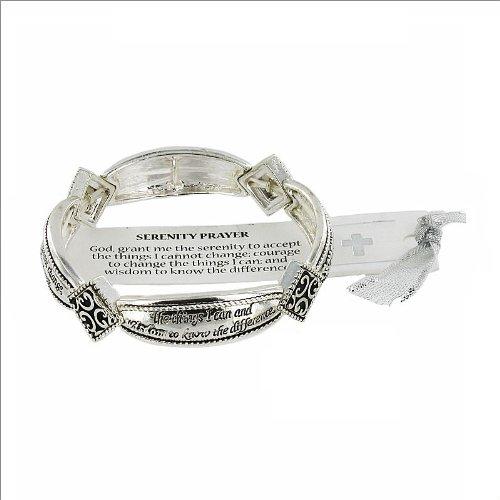JOA Serenity Prayer Theme Stretch Bracelet #034995