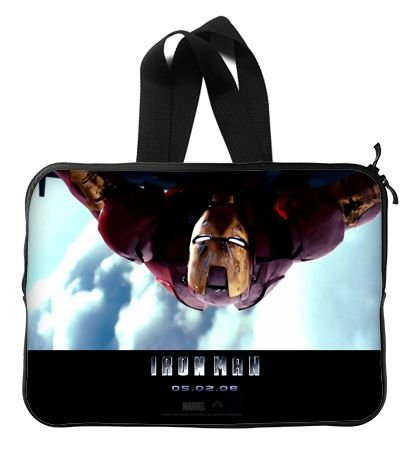 Iron Man The Movie Laptop Sleeve 13 / 13.3 Inch for Macbook Pro 13/macbook Air 13 and Laptop Case 13.3 Inch Dell/hp/lenovo/sony/toshiba/ausa /Acer/samsung Laptop Bag