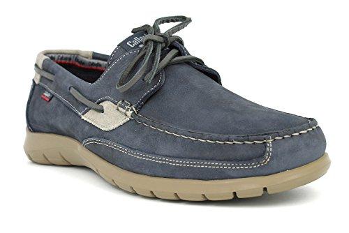 Callaghan, Scarpe da barca uomo marrone 43 blu Size: 44