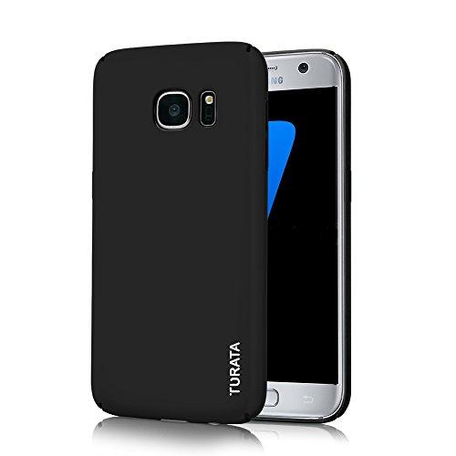 Samsung-Galaxy-S7-Case-TURATA-Ultra-dnne-Hartplastik-PC-schwarz-Schutzhlle-Premium-Beschichtete-Rutschfeste-Oberflchefr-Samsung-Galaxy-S7-Case