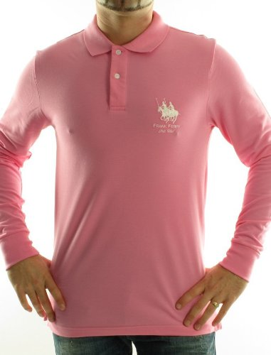 Frank Ferry Ff02w Straight Pink Man Polo Shirts Men - M