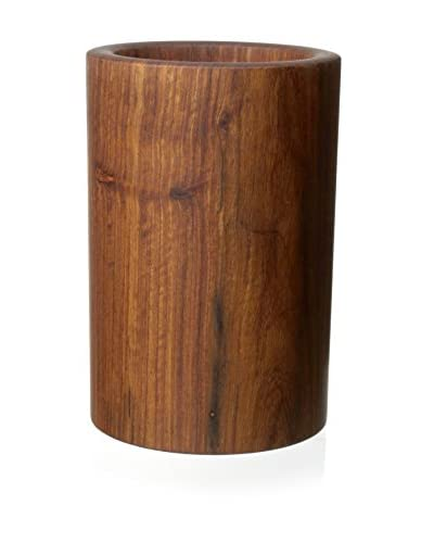 Be Home Rosewood Utensil Holder, Brown