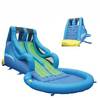Inflatable drinking water Slides:Big browse Commercial blow up Waterslide Images