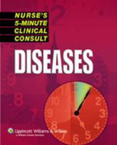 Nurse'S 5-Minute Clinical Consult: Diseases (The 5-Minute Consult Series)