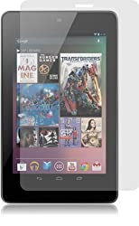 amFilm Premium Screen Protector Film Clear (Invisible) for Google Nexus 7 Tablet (2-Pack) -Retail Packing