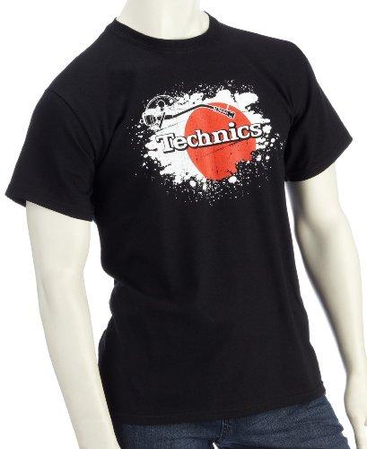 DMC Technics Japan Black Mens T-Shirt Small