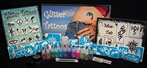 Amerikan Body Art Professional Glitter Tattoo Starter Kit
