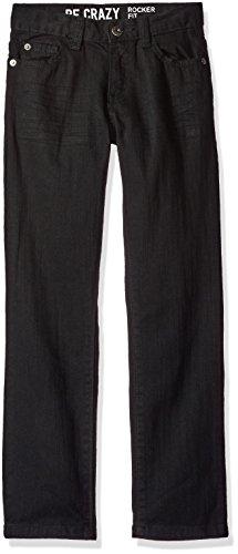 Crazy 8 Boys' Big Boys' Rocker Jean, Black, 14 (Boys Black Pants compare prices)