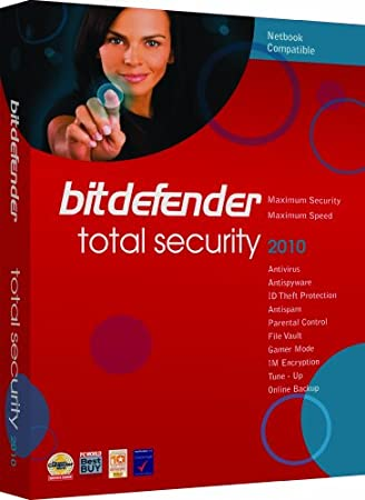 Bitdefender Total Security 2010 - 3Pc/2Yr [OLD VERSION]