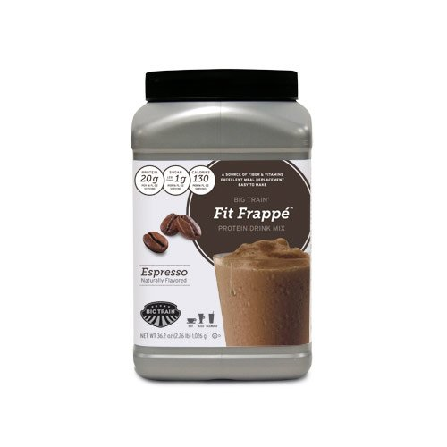 Fit Frappe Protein Drink Mix, Espresso,