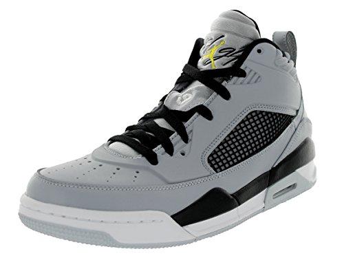 promo code e9572 bbe0a Nike Jordan Men s Jordan Flight 9 5 Wlf Gry Vbrnt Yllw Blk Pr Pltn Basketball  Shoe 12 Men US