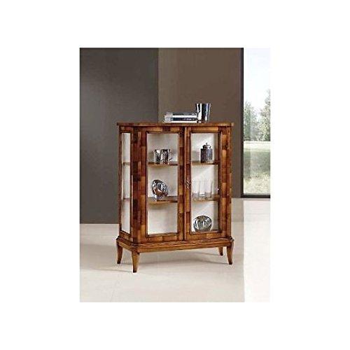 Display Cabinet Wood 2Doors–As Photos