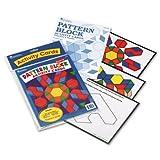 Intermediate Pattern Block Design Cards for Grades 2-6