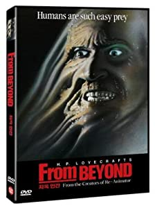 From Beyond (1986) All Region DVD (Region 1,2,3,4,5,6 Compatible). Written by H.P. Lovecraft.