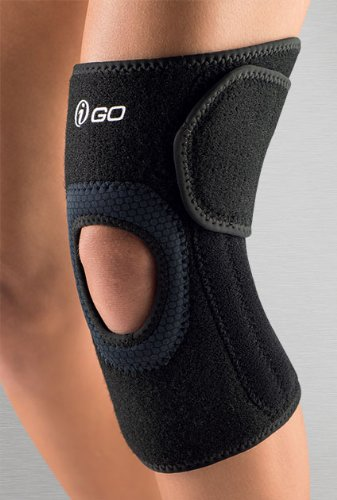 iGO Wraparound Knee Stabilizer, Black