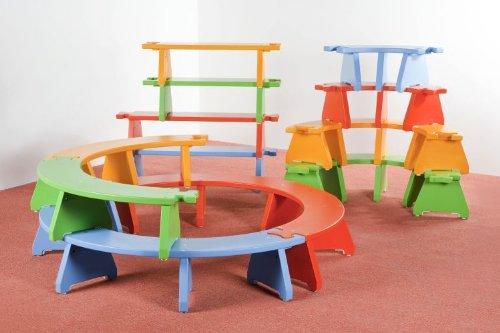 Puzzlebänkchen Set 4 – 12 tlg. Komplettset