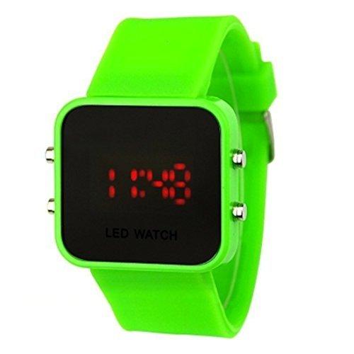 montre-led-miroir-watch-color-bracelet-silicone-10-couleurs-disponibles-couleur-vert