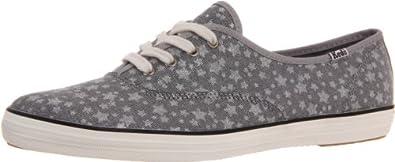 Ked's Womens Women's Champion Star Fashion Sneaker, Silver, 6.5 M US