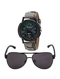 Relish Analog Round Casual Wear Watches For Men Combo - B01ANCDBZK