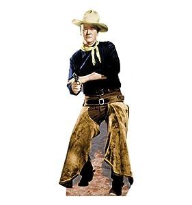 "John Wayne ""Chaps"" - Advanced Graphics Life Size Cardboard Standup"