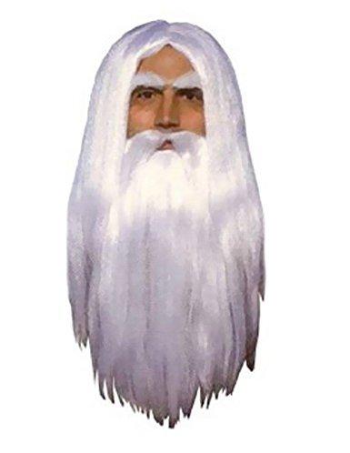 Merlin Wig And Beard Set (Merlin Wig And Beard Set)
