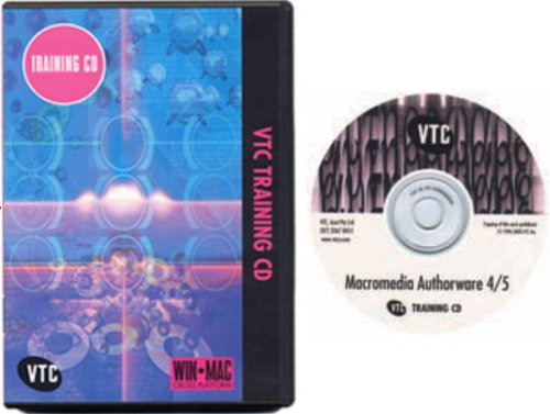 Macromedia Authorware Attain 4.0 & 5.0 Training CD