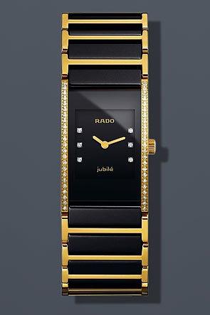 Orologio Donna Quarzo Rado display Analogico cinturino Ceramica Multicolore e quadrante Nero  153.0753.3.075