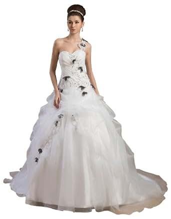 Herafa Wedding Dress Elegant NOw35627 At Amazon Womens Clothing Store