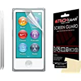 [Pack of 2] TECHGEAR� Apple iPod Nano 8 (8th Generation) & iPod Nano 7 (7th Generation) CLEAR Screen Protector Covers with Cleaning Cloth [Nano 7 & Nano 8]
