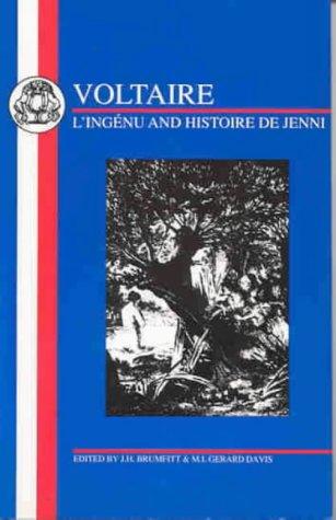 Voltaire: L'Ingenu and Histoire de Jenni (French Texts)