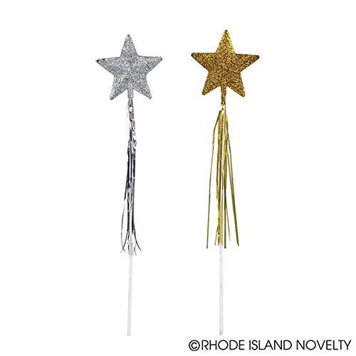 Glitter Star Wands (1 dz)