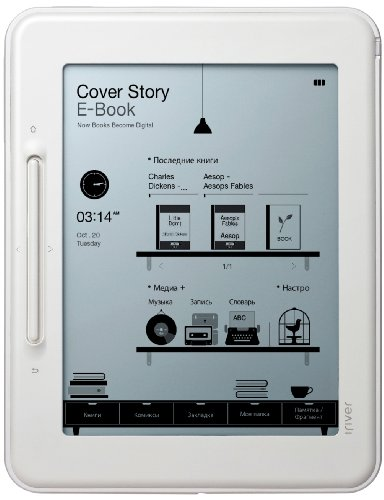 iriver 6 type touch electronic paper electronic book devices Cover Story Basic COVER-STORY-2GB