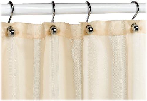 Croscill Fabric Shower Curtain Liner Linen