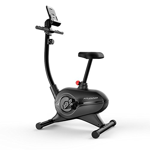 Fitleader UF4 Health Fitness Upright Exercise Indoor Bike Magnetic Stationary Belt Cardio Cycle Foldable Cycling (Indoor Upright Stationary compare prices)